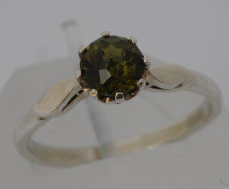 R-794 - Green ChromeTourmaline Ring