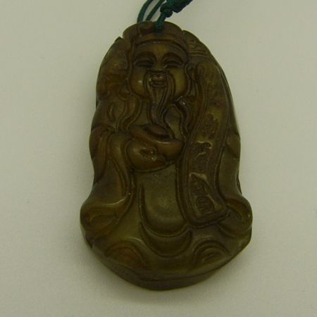 SAL5 - Stone Carving Pendant
