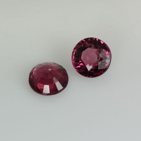 Pair Purple Unset Garnets for sale online