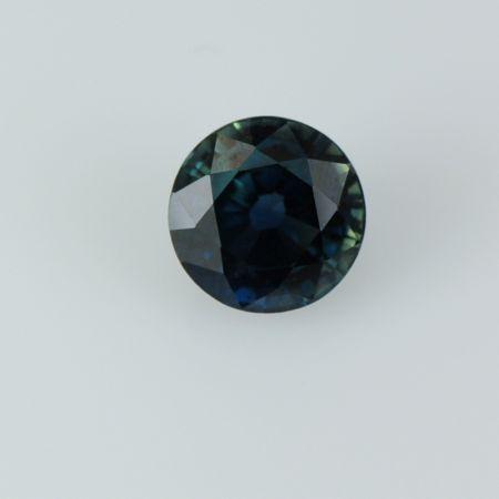 Sapphire round loose unset