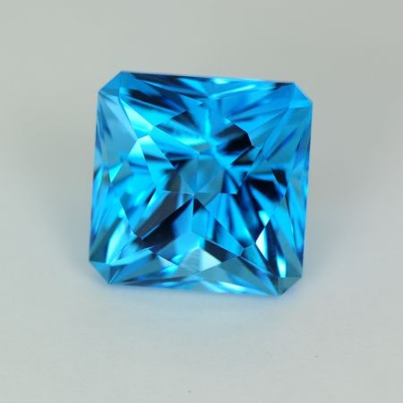 Blue Topaz Square loose gemstone
