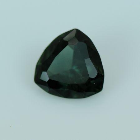 Green Trillion Sapphire