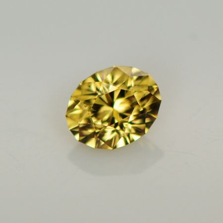 Yellow Zircon Oval