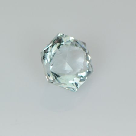 Natural White Topaz hexagon for sale